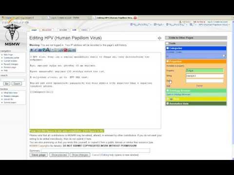 Semantic Wiki in Greek Medical Education