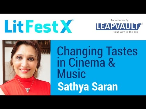 Sathya Saran Live Q&A: Changing Tastes in Cinema & Music