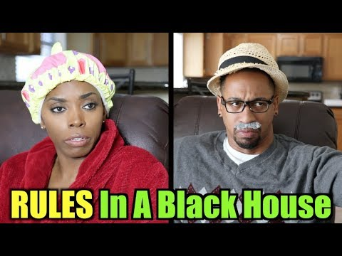 RULES In A BLACK HOUSE