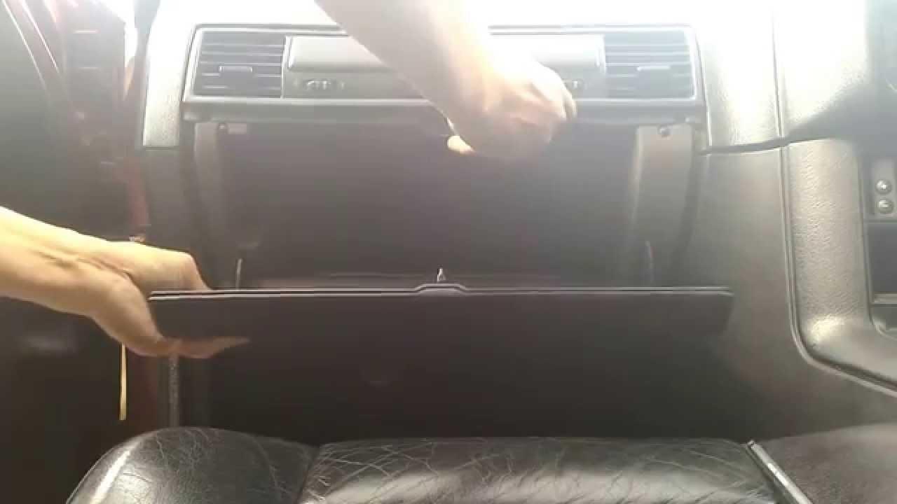 Bmw E36 Glove Box Removal