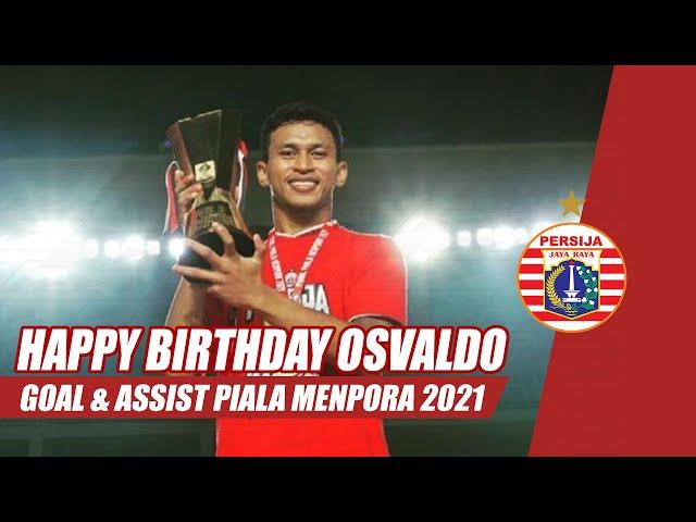 HAPPY BIRTHDAY OSVALDO HAAY!!! | Highlight Goals and Assists
