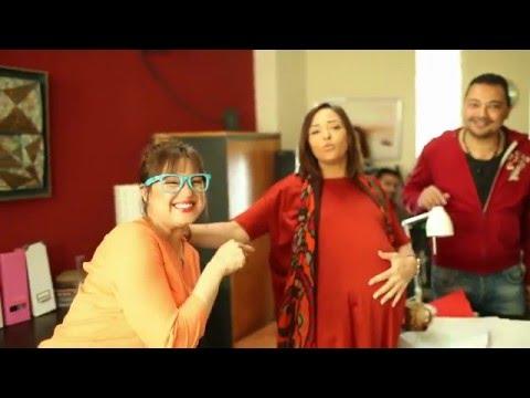 كواليس تصوير الجزء الثاني من مسلسل يوميات زوجة مفروسة أوي - رمضان 2016