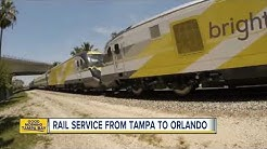 Rail service from Tampa to Orlando could be on the way