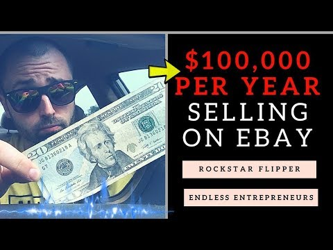 $100,000 Per Year Selling on Ebay With Rockstar Flipper & Endless Entrepreneurs