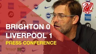 brighton-0-1-liverpool-jurgen-klopp-press-conference