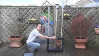 Garden Tool Storage Unit