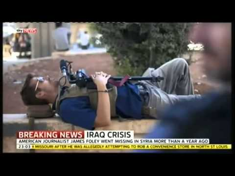 BREAKING NEWS  ISIS Beheading Kidnapped US Journalist James Foley   R I P