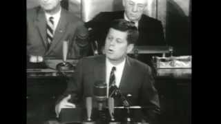 """John F. Kennedy: """"I believe that this nation should commit itself..."""""""