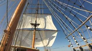First Voyage SSV Oliver Hazard Perry: Portland Bound!