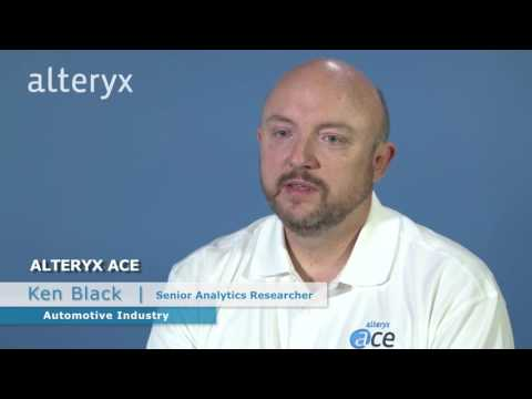 Ken Black of General Motors talks about their use of Alteryx