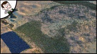 Massive 30000 Zombie v Medieval Army Survival Battle - Ultimate Epic Battle Simulator Gameplay