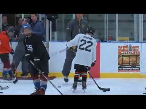 New NHL team Las Vegas Golden Knights hold clinic in Whitefish
