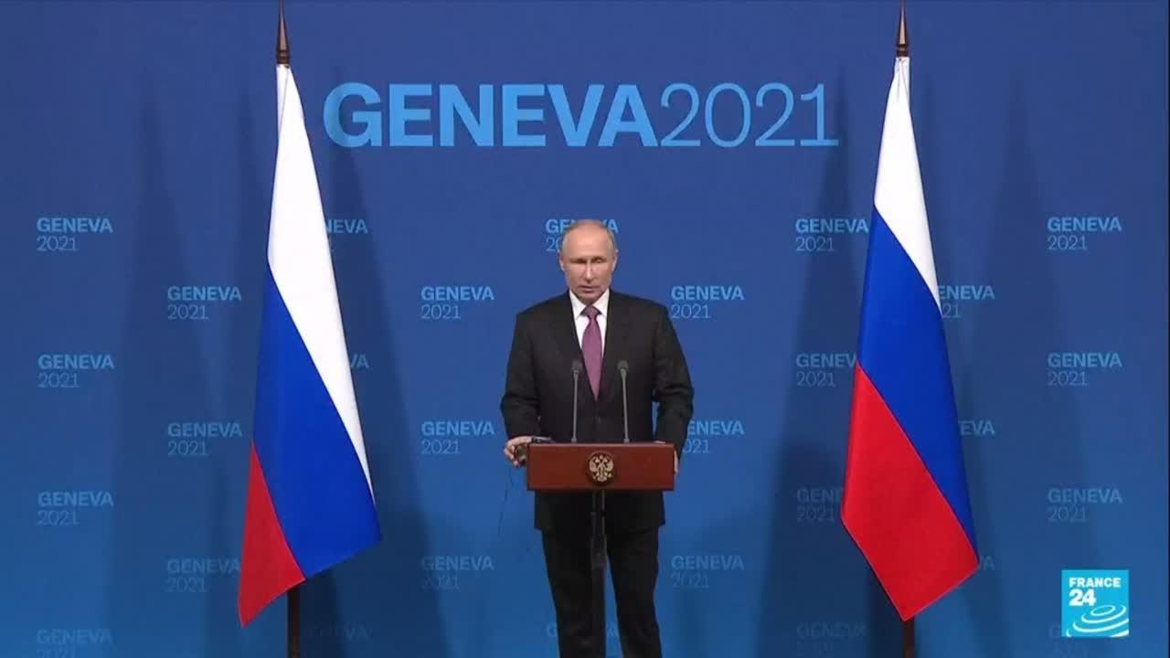 Download REPLAY - Vladimir Poutine s'exprime à l'issue de sa rencontre avec Joe Biden à Genève
