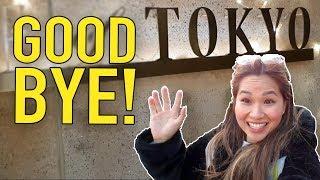 JAPAN VLOG 12    GOODBYE TOKYO! =(