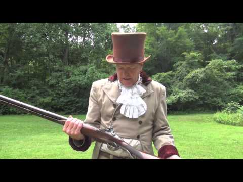 Firing Two Legendary Black Powder Guns