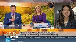 April Is National Car Care Month - Be Car Care Aware - Lauren Fix