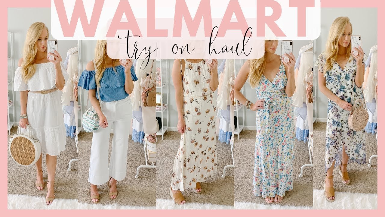 WALMART CLOTHING TRY ON HAUL | SUMMER OUTFITS 2019 | Amanda John 4