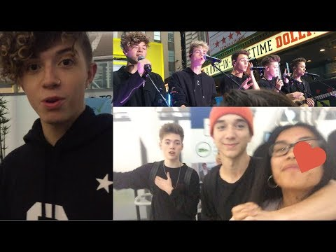 VLOG-OFF WITH ZACH HERRON & DANIEL SEAVEY + WHY DON'T WE LIVE ON MTV'S TRL