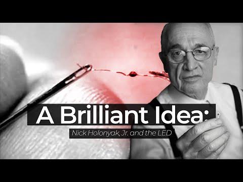 A Brilliant Idea: Nick Holonyak, Jr. and the LED