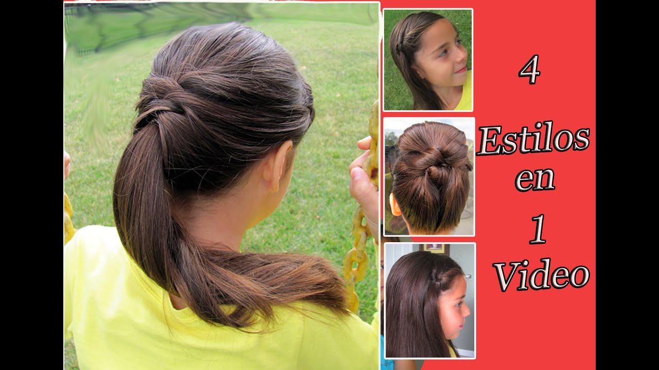 Peinados faciles para niСЂС–РІВ±as 4 aСЂС–РІВ±os