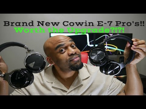 Brand New 2018 Cowin E7 PRO Noise Cancelling Headphones! Worth the Upgrade?!