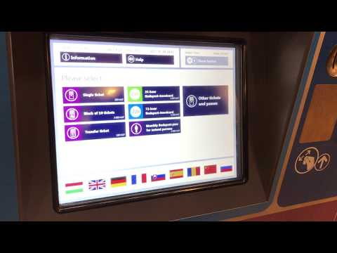 HOW TO BUY TRAM & BUS TICKET IN BUDAPEST || 2017 || TRAVEL BUDAPEST