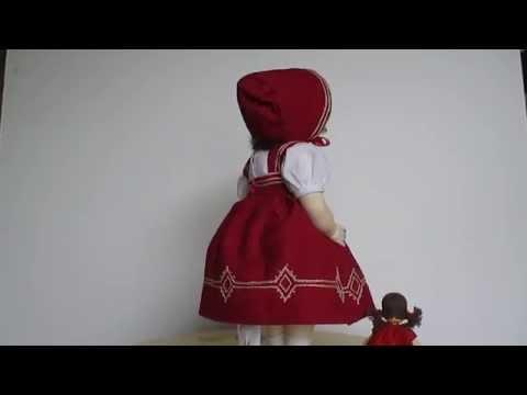 Victoria Swiss Wood Doll by Erika Catellani