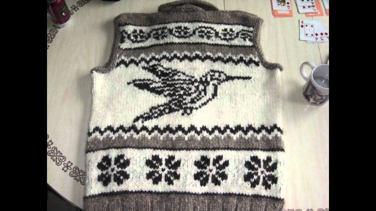 The Cowichan Sweaters: A Cultural Tradition - YouTube