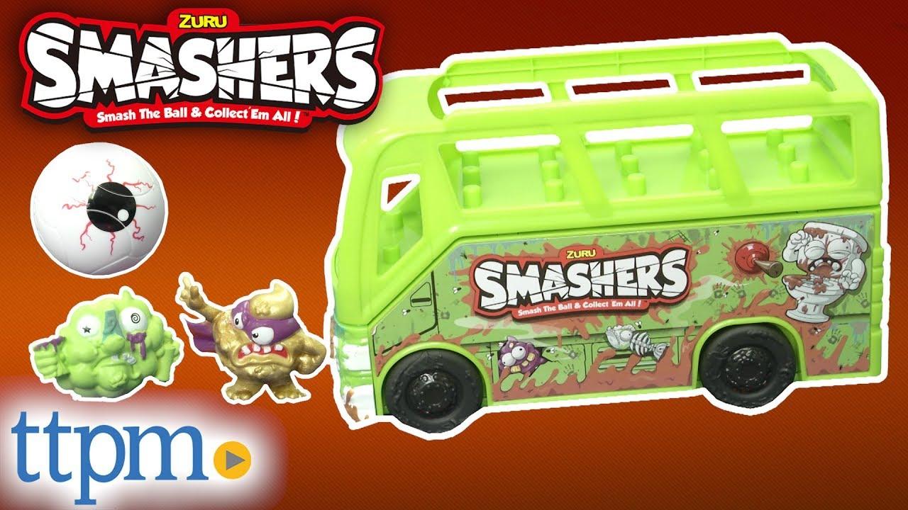 Smashers Series 2 Gross Sludge Bus from Zuru
