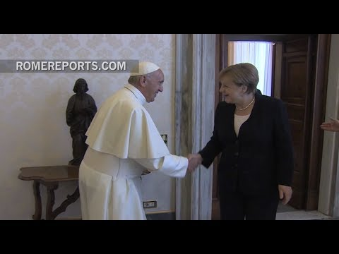 Angela Merkel and Pope Francis agree to push multilateralism