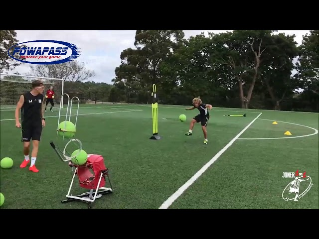 Awesome session with Joner1on1footballtraining and the Powapass!