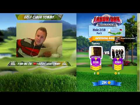 Golf Clash stream, Labor Day Tournament - Opening round, Masters TEE! - Front 9