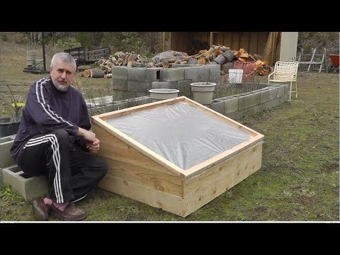 How To Build A Cold Frame For Growing Winter Vegetables