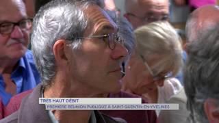 SQY : Réunion publique SFR