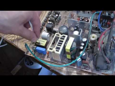 видео: ТВ samsung cz-21d83n не включается