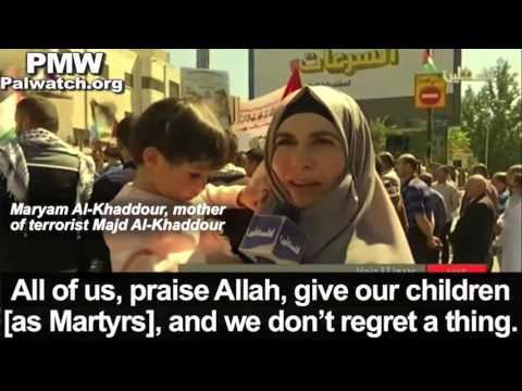 "Mother of terrorist: ""All of us, praise Allah, give our children, and we do not regret a thing"""