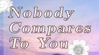 Nobody Compares To You|meme [FlipaClip]