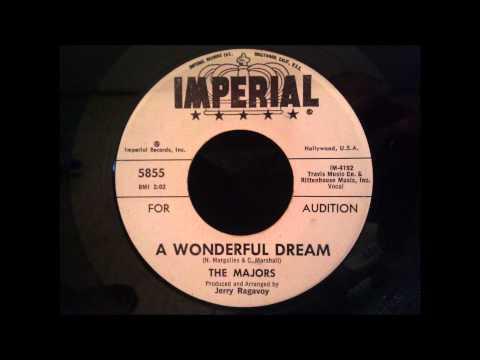Majors - A Wonderful Dream - Great Early 60's Doo Wop