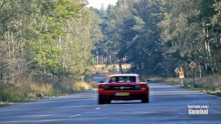 Dodge Viper GTS Heffner 650 vs Ferrari Testarossa - LOUD fly by!! - 1080p HD