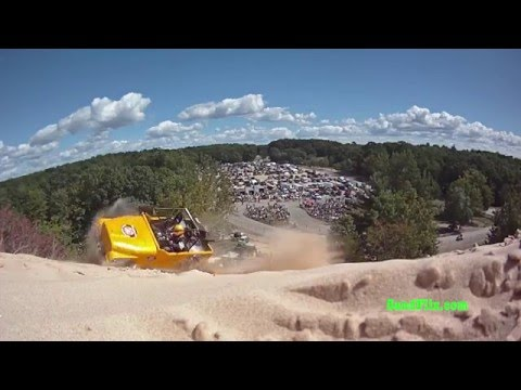 28 Crashes at Silver Lake Sand Dunes Part 1