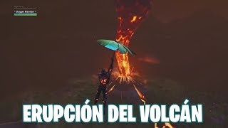 Fortnite Battle Royale ? Raft Loot Event and Volcano Eruption
