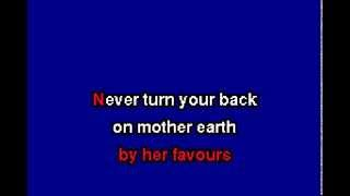 ggnzla KARAOKE 203, Sparks - NEVER TURN YOUR BACK ON MOTHER EARTH