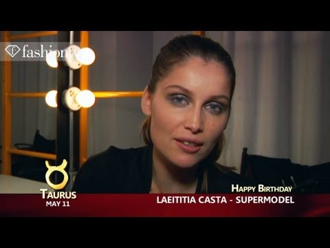 Happy Birthday Laetitia Casta and Valentino Garavani! May 11 | FashionTV