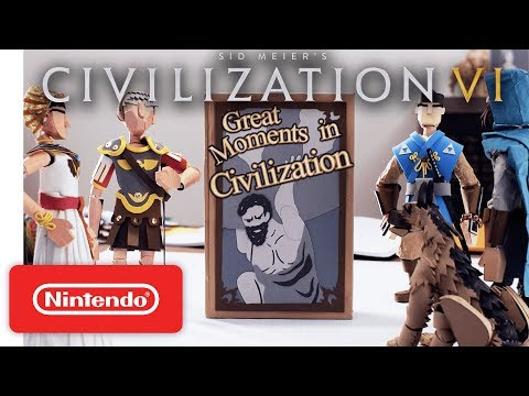 Civilization VI - Great Moments on Nintendo Switch - Launch Trailer