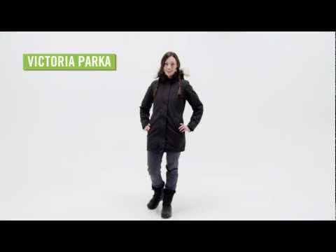 Canada Goose expedition parka sale 2016 - Canada Goose jacka Victoria parka black small 2012/09/17 - YouTube