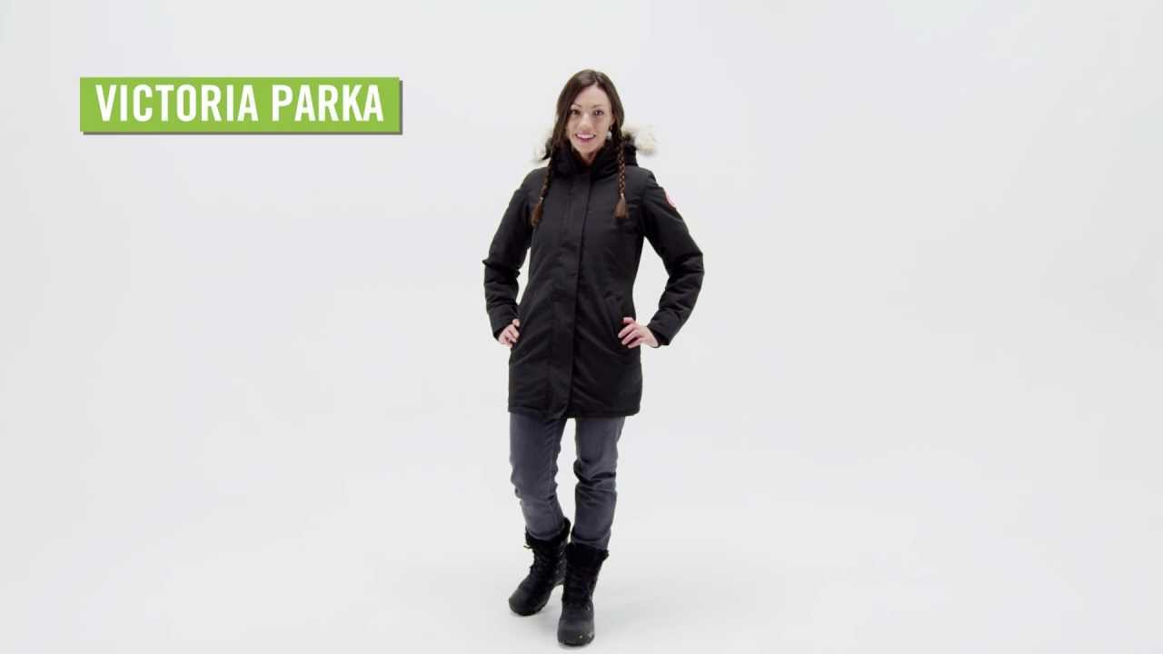 Canada Goose womens replica shop - Canada Goose Women's Victoria Down Parka - YouTube