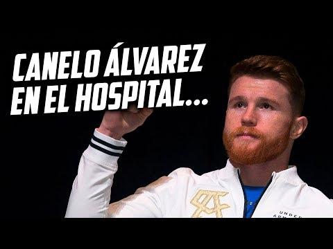 CANELO ÁLVAREZ INGRESA AL HOSPITAL