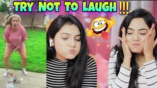 Try Not To *Laugh*  Challenge With Sister *Gone Wrong* Nilanjana Dhar vs Kandana Dhar