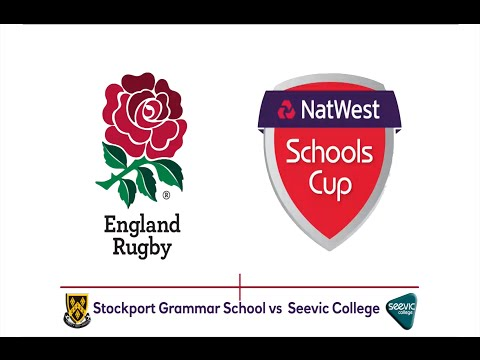 Natwest Schools Cup U18 Semi Final - Stockport Grammar School Vs. Seevic College Full Match