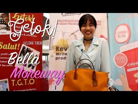 [Getok!] Telunjuk Geledah Tokoh - Bella Moreway, Si Classy Fashion Blogger